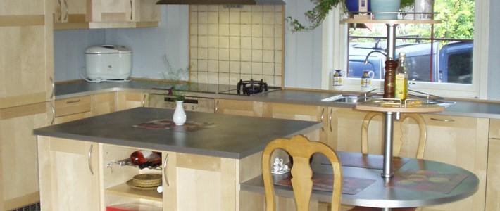 Kjøkken i bjørk